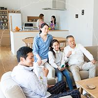 三世帯同居でも、それぞれが暮らしやすい家にしたい!